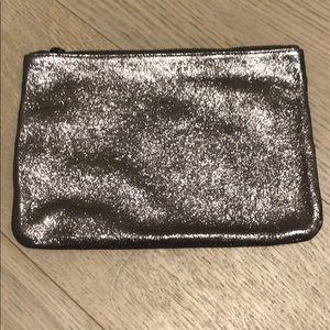 Marc Jacobs Metallic Zip Pouch